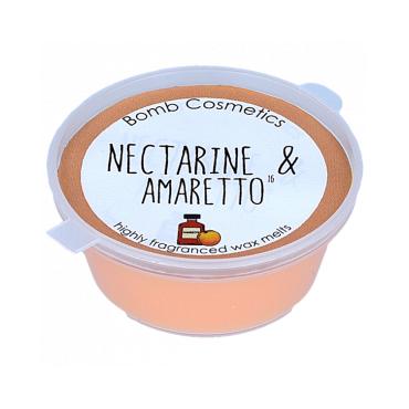 Wosk zapachowy NEKTARYNKA & AMARETTO Bomb Cosmetics