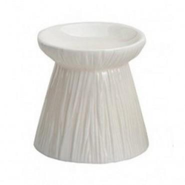 Kominek do wosków Linear - biały