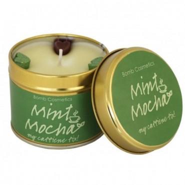 Świeca zapachowa w puszce MIĘTOWA MOCHA Bomb Cosmetics