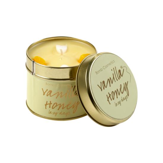 Świeca zapachowa w puszce WANILIOWY MIÓD Bomb Cosmetics