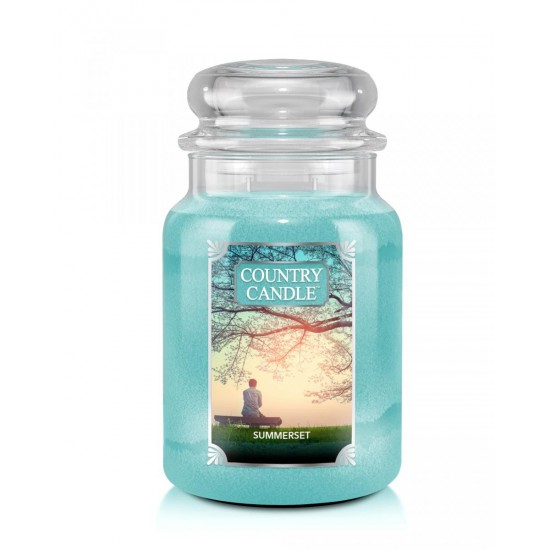 Duża świeca Summerset Country Candle