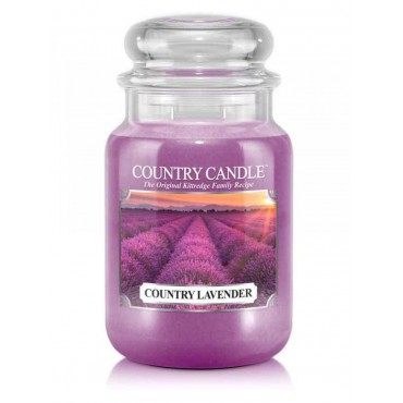 Duża świeca Country Lavender Country Candle