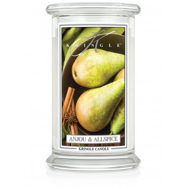 Duża świeca Anjou & Allspice Kringle Candle