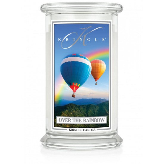 Duża świeca Over the Rainbow Kringle Candle