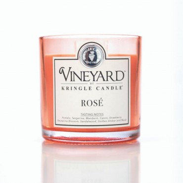 Tumbler Rose Vineyard Kringle Candle