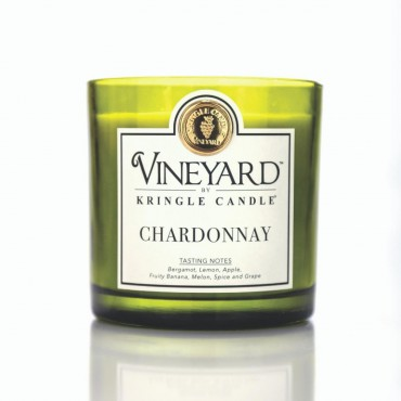 Tumbler Chardonnay Vineyard Kringle Candle