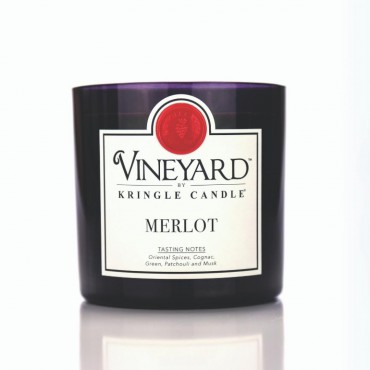 Tumbler Merlot Vineyard Kringle Candle