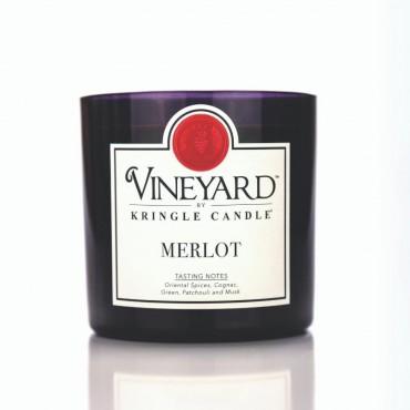 Tumbler Merlot Vineyard Kringle Candle