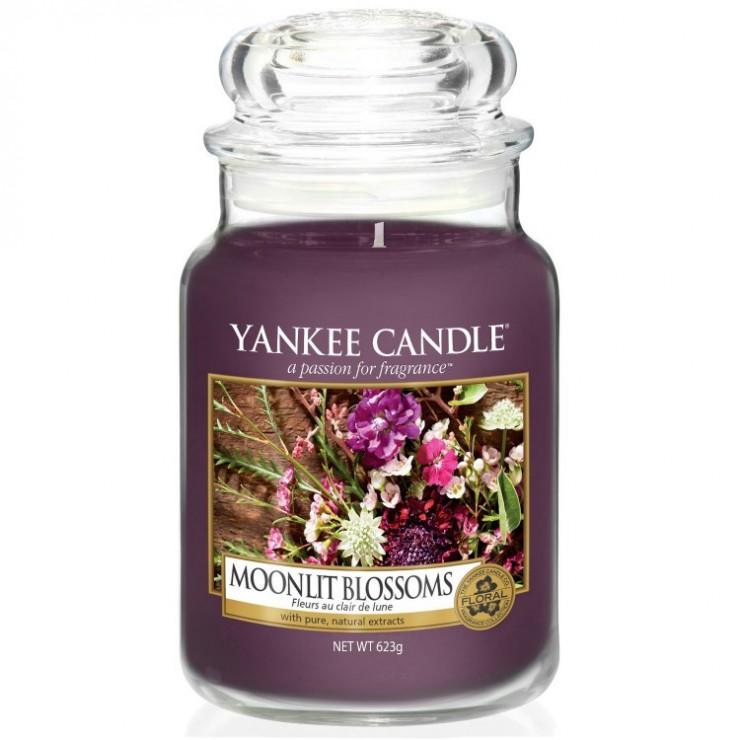 Duża świeca Moonlit Blossom Yankee Candle