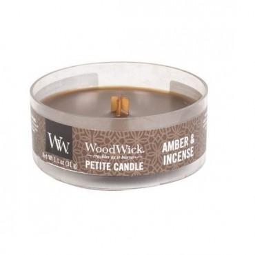 Świeca Petite Amber & Incense WoodWick