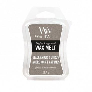 Wosk Black Amber & Citrus WoodWick