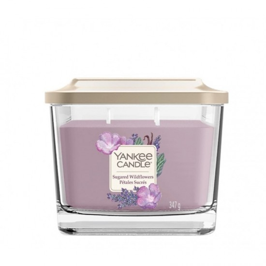 Elevation średnia świeca Sugared Wildflowers Yankee Candle