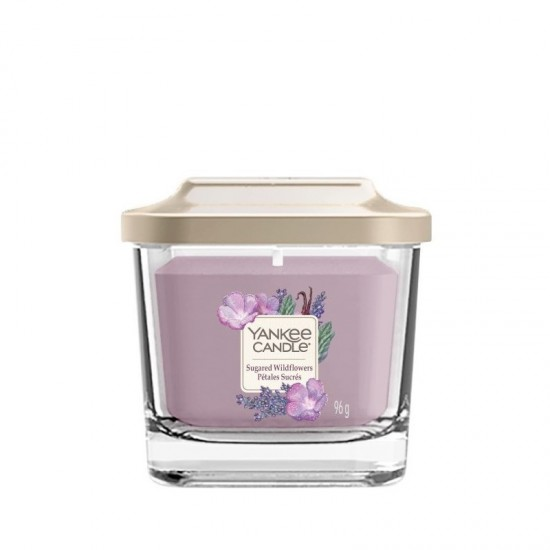 Elevation mała świeca Sugared Wildflowers Yankee Candle