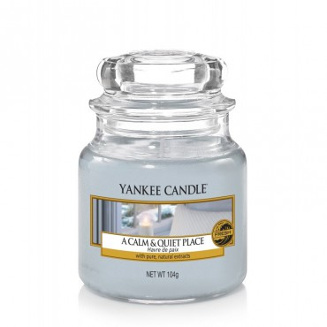 Mała świeca A Calm & Quiet Place Yankee Candle