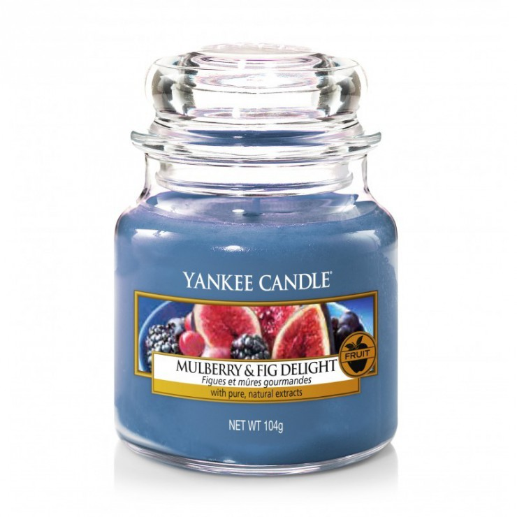 Mała świeca Mulberry & Fig Delight Yankee Candle