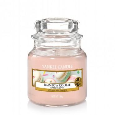 Mała świeca Rainbow Cookie Yankee Candle