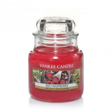 Mała świeca Red Raspberry Yankee Candle