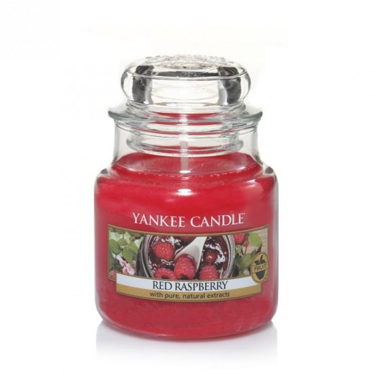 Mała świeca Red Raspberry Yankee Candle