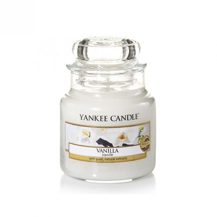 Mała świeca Vanilla Yankee Candle