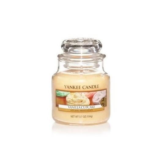 Mała świeca Vanilla Cupcake Yankee Candle