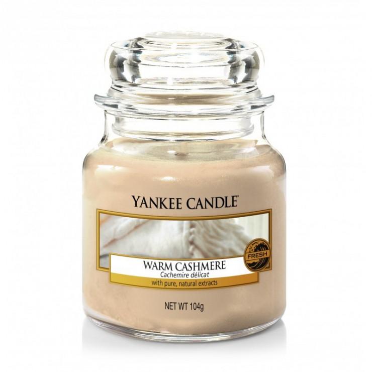 Mała świeca Warm Cashmere Yankee Candle