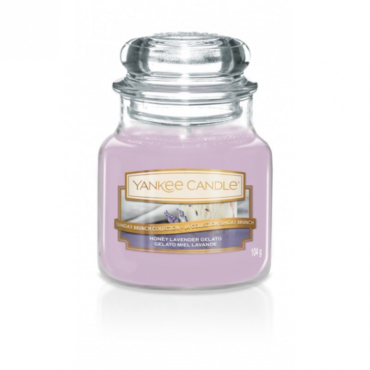 Mała świeca Honey Lavender Gelato Yankee Candle