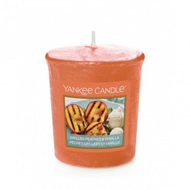 Sampler Grilled Peaches & Vanilla Yankee Candle