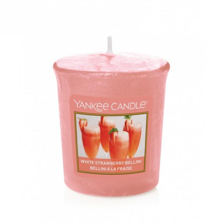 Sampler White Strawberry Bellini Yankee Candle