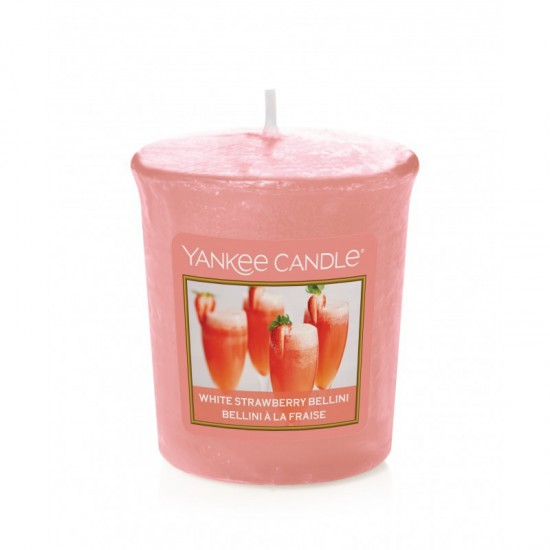 Sampler White Strawberry Bellini Yankee Candle
