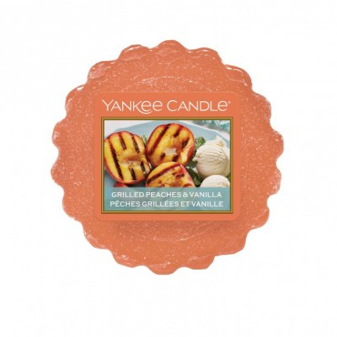 Wosk Grilled Peaches & Vanilla Yankee Candle
