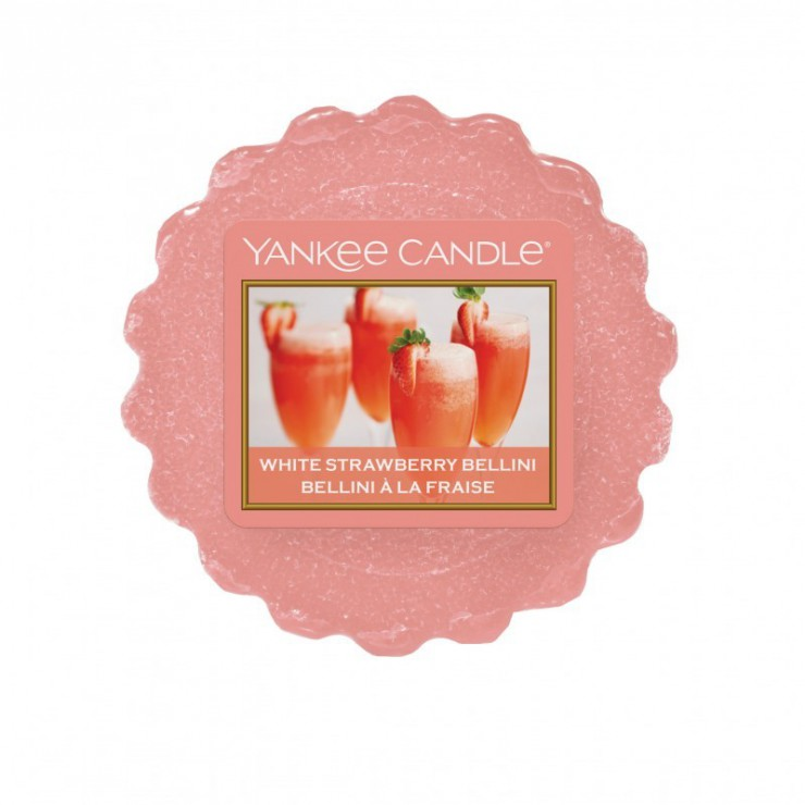 Wosk White Strawberry Bellini Yankee Candle