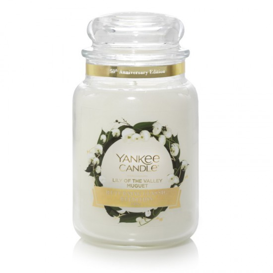 Duża świeca Lily of The Valley Yankee Candle