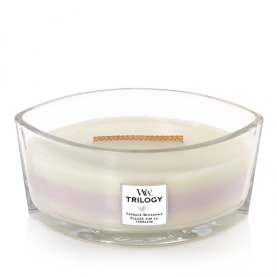 Świeca Hearthwick Trilogy Terrace Blossoms WoodWick