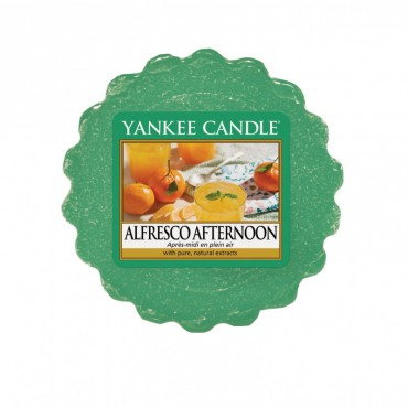 Wosk Alfresco Afternoon Yankee Candle