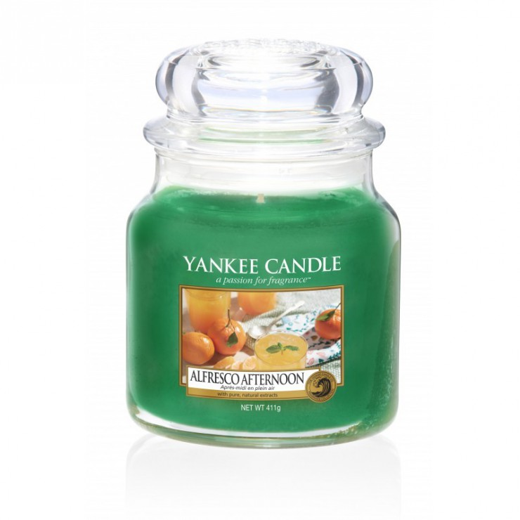 Średnia świeca Alfresco Afternoon Yankee Candle