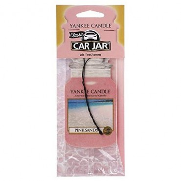 Car jar Pink Sands Yankee Candle