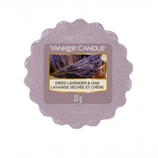Wosk zapachowy Dried Lavender & Oak Yankee Candle