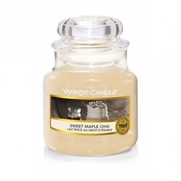 Mała świeca Sweet Maple Chai Yankee Candle