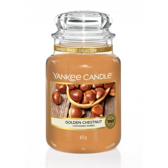 Duża świeca Golden Chestnut Yankee Candle
