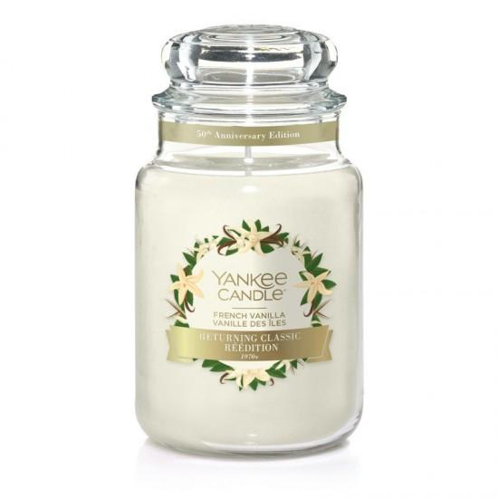 Duża świeca French Vanilla Yankee Candle