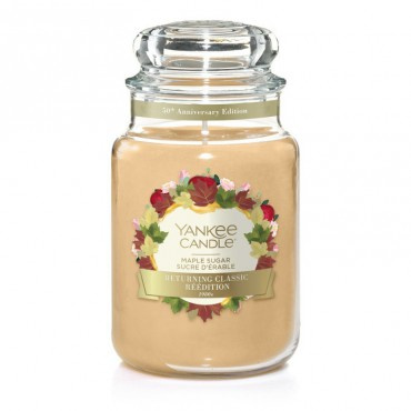 Duża świeca Maple Sugar Yankee Candle