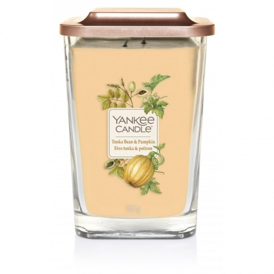 Elevation duża świeca Tonka Bean & Pumpkin Yankee Candle