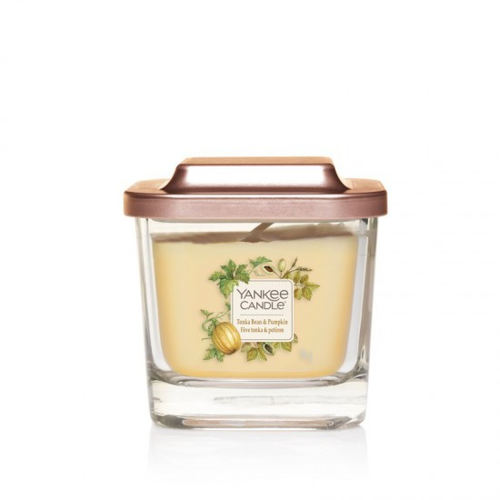 Elevation mała świeca Tonka Bean & Pumpkin Yankee Candle
