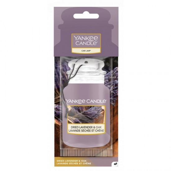 Car jar Dried Lavender & Oak Yankee Candle