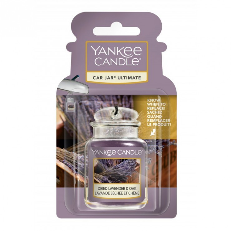 Car jar ultimate Dried Lavender & Oak Yankee Candle