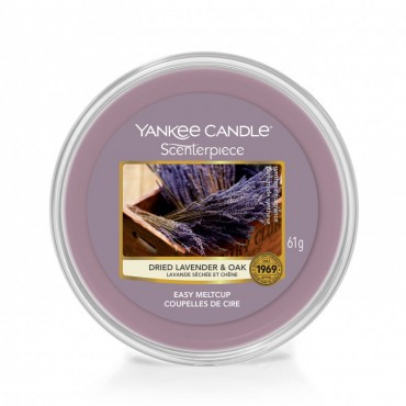 Wosk Scenterpiece Dried Lavender & Oak Yankee Candle