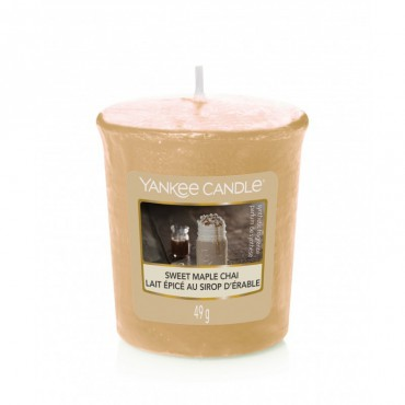 Sampler Sweet Maple Chai Yankee Candle