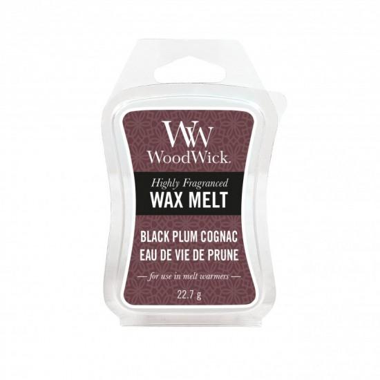 Wosk zapachowy Black Plum Cognac WoodWick