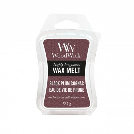 Wosk Black Plum Cognac WoodWick