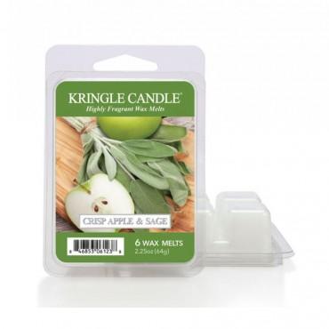 Wosk zapachowy Crisp Apple & Lime Kringle Candle